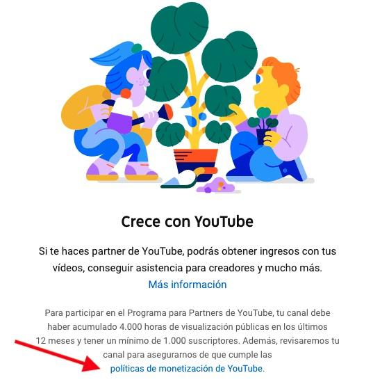requisitos para monetizar en youtube